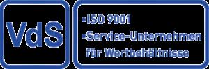 VdS ISO 9001 - Service-Unternehmen für Wertbehältnisse